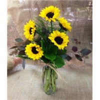Full-of-sunshine-flowerama-exclusive-sunflower-flower-in-glass-vase